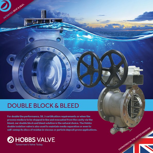 Double Block & Bleed Product Brochure